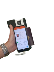 Identity reading on the move gets easier thanks to Elyctis ID BOX One 341, the all-in-one mobile eDocument reader